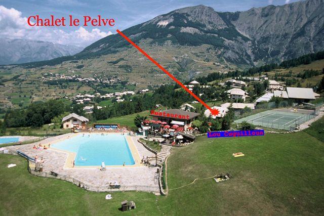 Restaurant location de chalets aux orres for Piscine les deux alpes