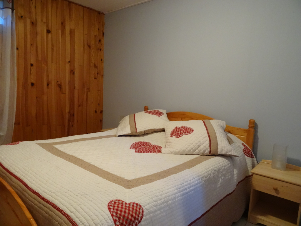 chambre parents : les orres chalet le pelve appartement le blanchon