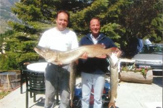 Lac de Serre Ponçon : pêche_1