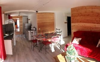 Les Orres, Chalet Philou : studio rez de montagne_3