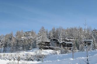 Les Orres, les chalets : l'hiver à la montagne_4